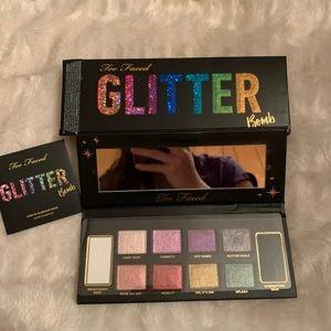 Too faced glitter eyeshadow palette final $